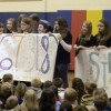 Northampton Students collect record number of pennies for patients
